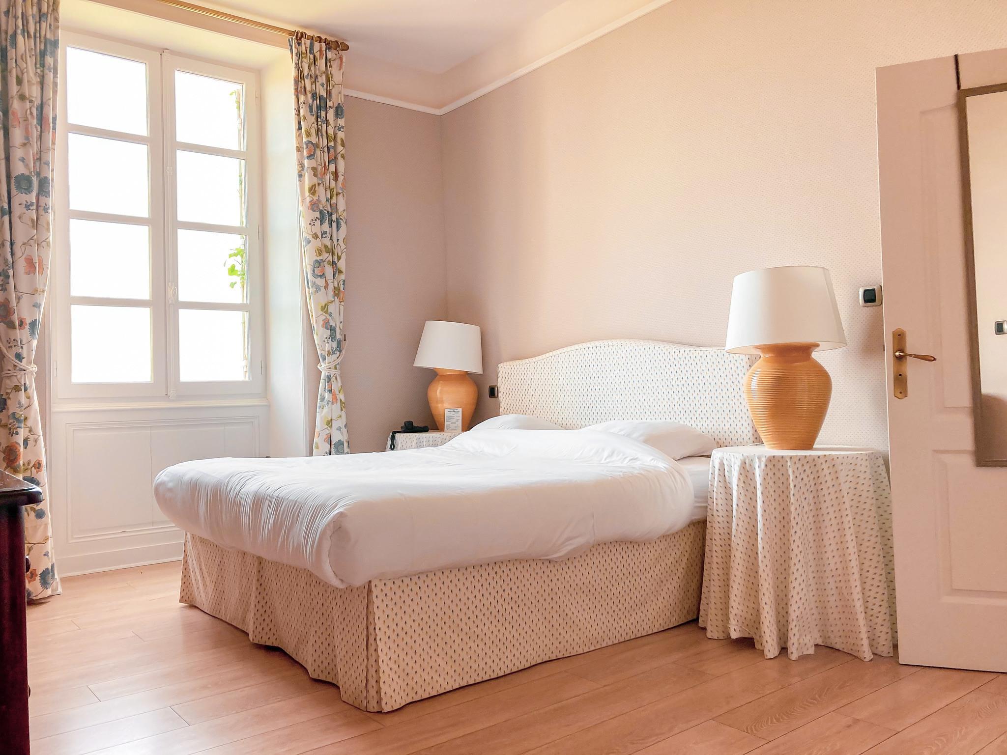 Chambre d'hôtel du Château d'Arche