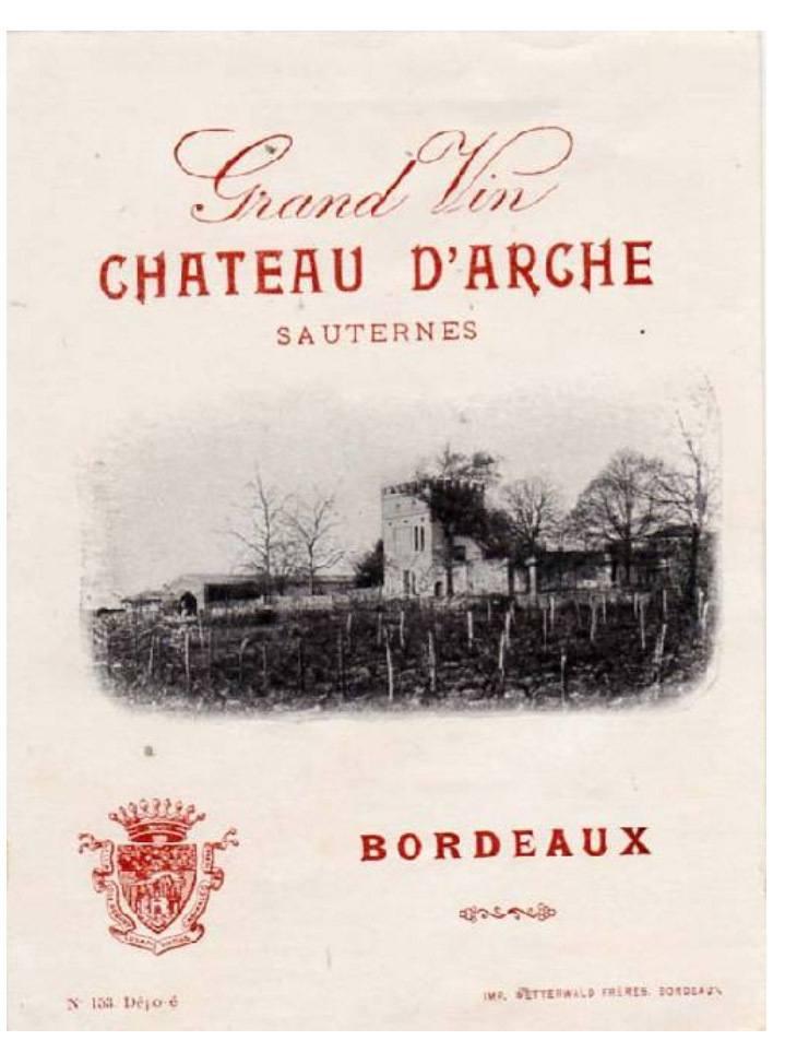 Depuis 1611 - Chateau d'Arche