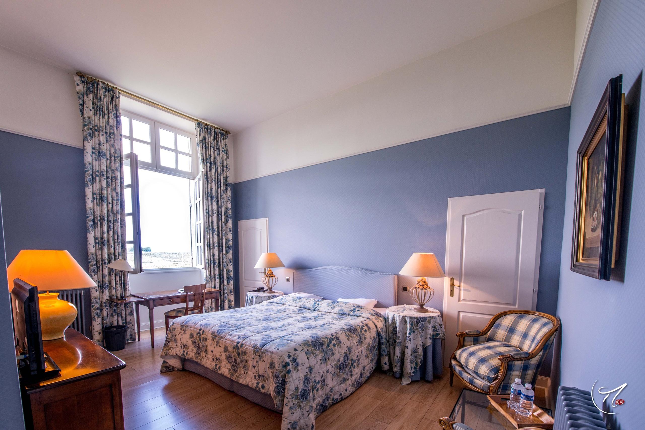 Nos chambres doubles - Chateau d'Arche