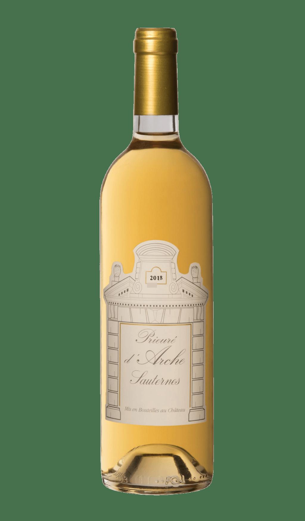 Bouteille de vin : Prieuré d'Arche 2018 du Château d'Arche, Grand Cru Classé 1855
