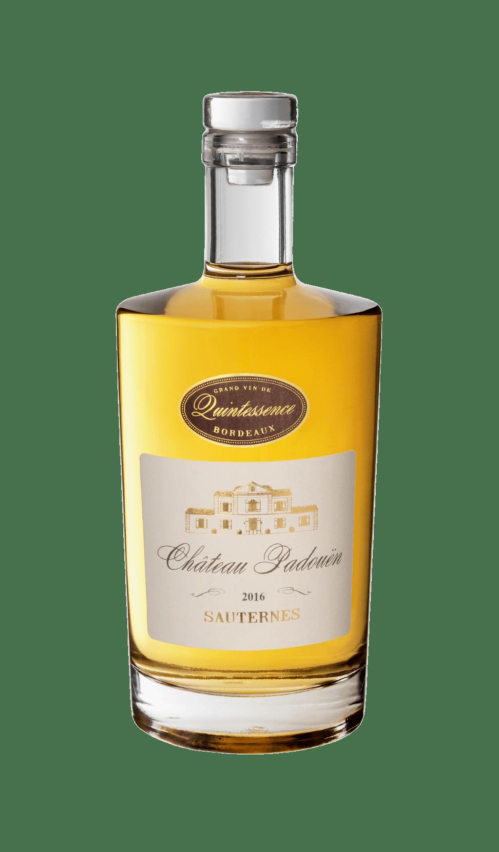 Bouteille de vin : Château Padouen 2018 Sauternes du Château d'Arche