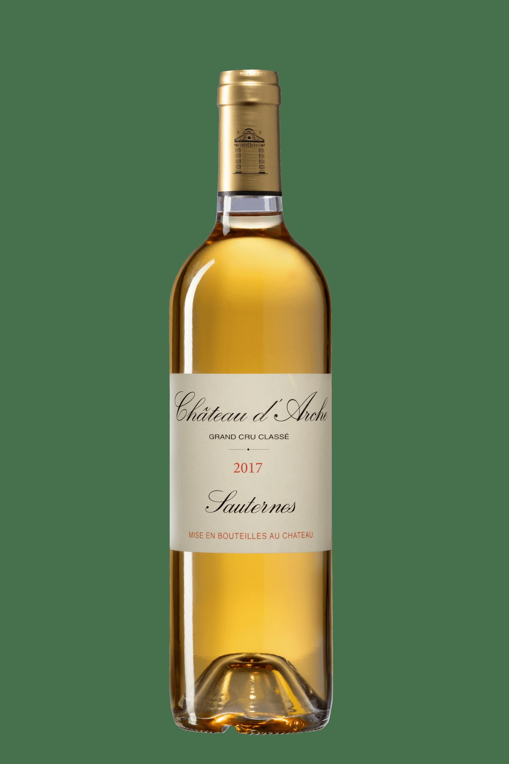 Château d'Arche 2017 bouteille, grand cru classé, Sauternes