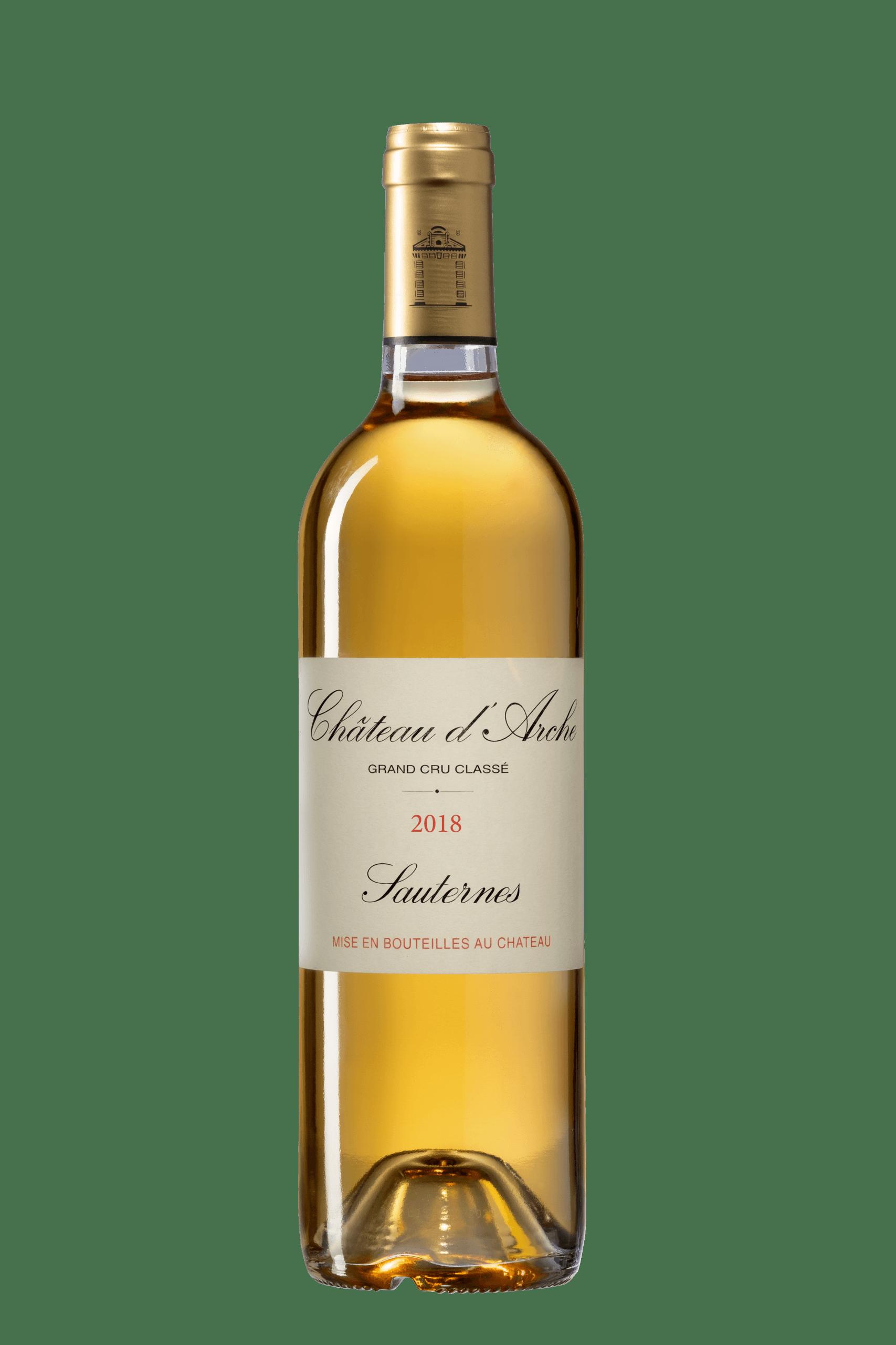 Château d'Arche bouteille, grand cru classé, Sauternes