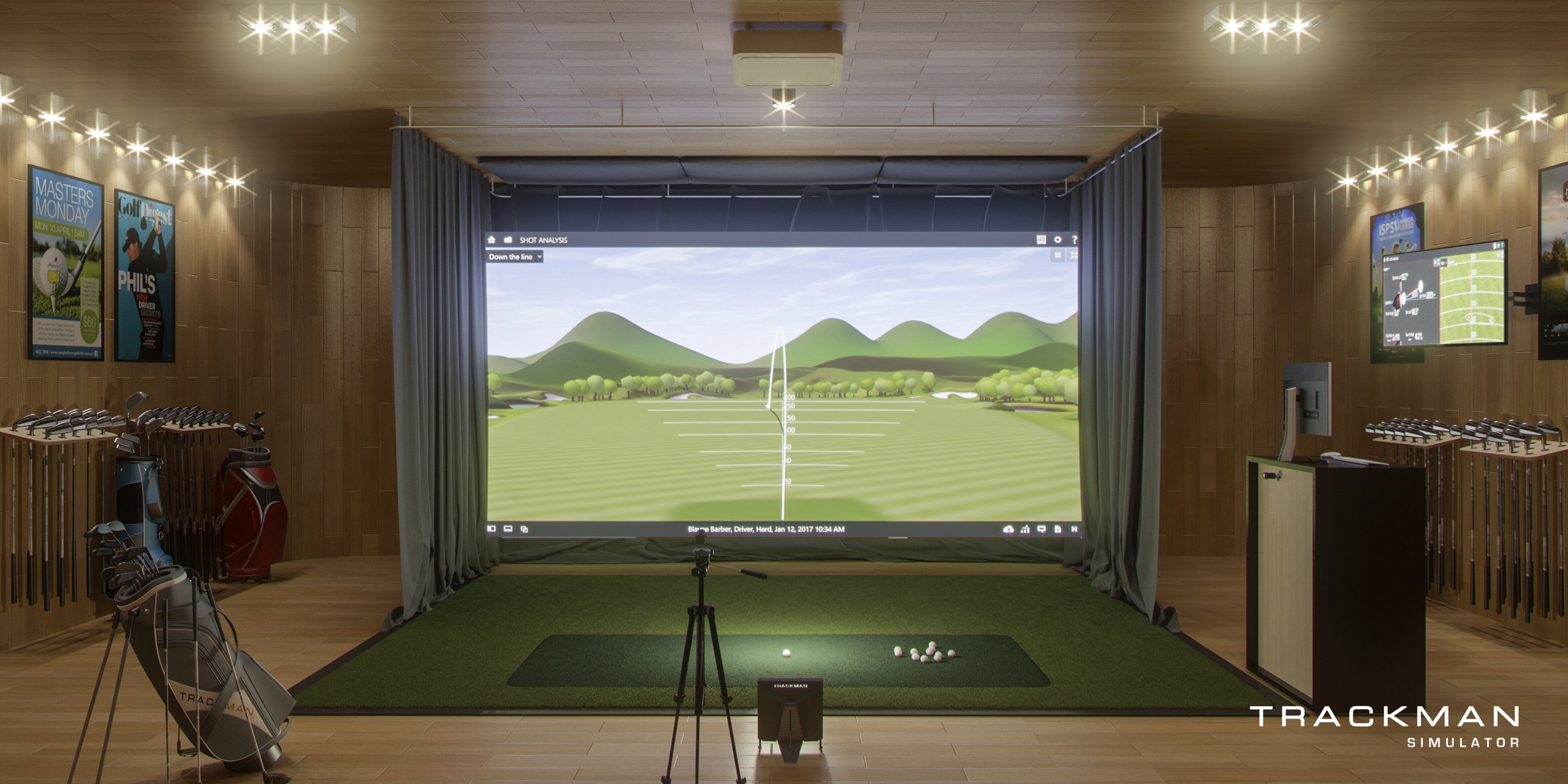 Golf indoor - Chateau d'Arche